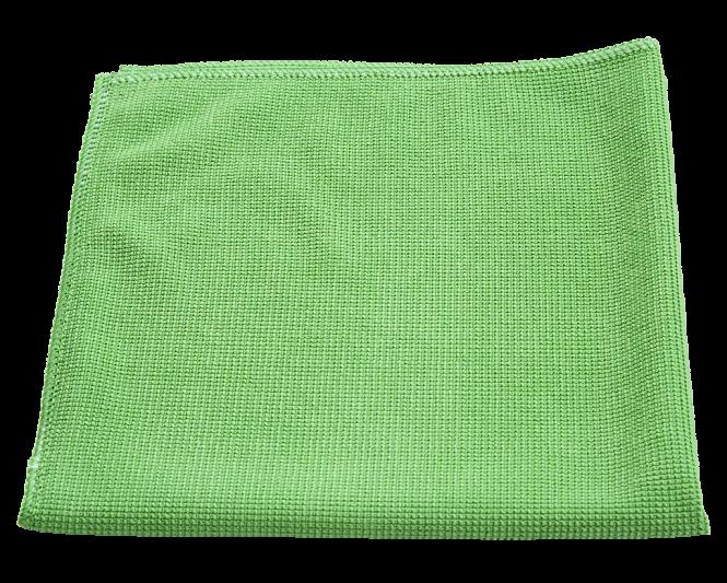 Microfasertuch Top grün | ohne Einzelverpackung | 200 Stück